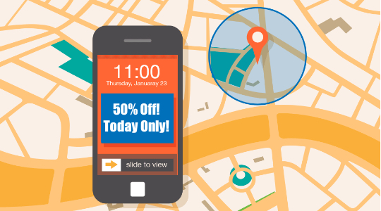 rewards program geofence text marketing boston, ma